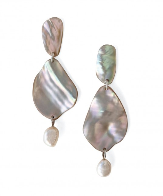 Faye Earrings Shell