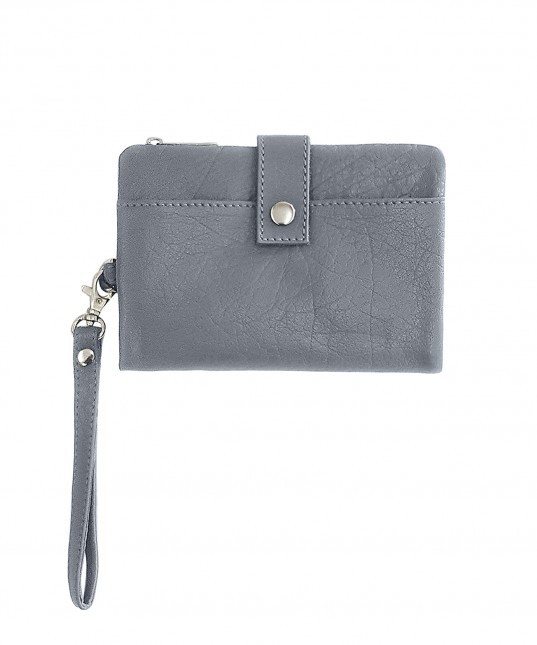 Luca Leather Clutch