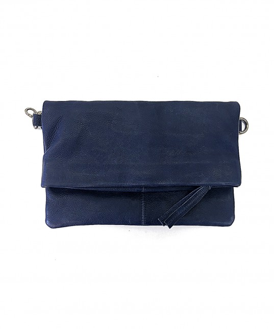 Mara Leather Bag Indigo