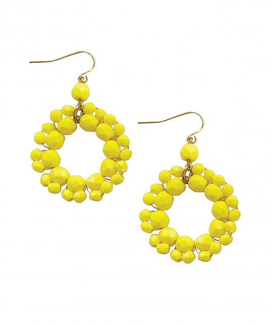 Sierra Earrings Yellow