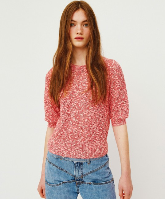 Inez Pullover Red