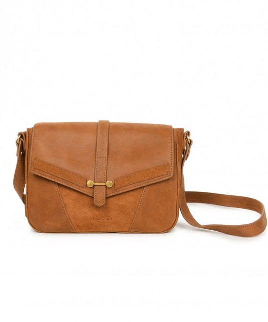 Paola Leather Bag Spice