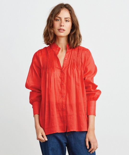 Amaya Shirt Cherry