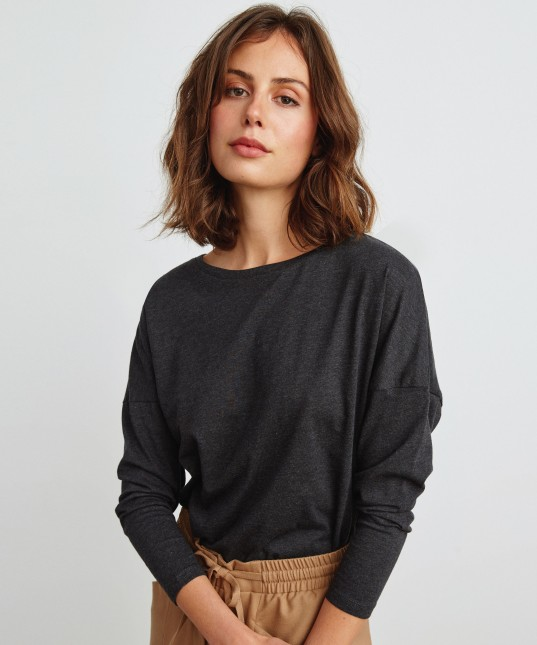 Jude Top Charcoal