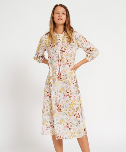 Andreas Dress Willow Print
