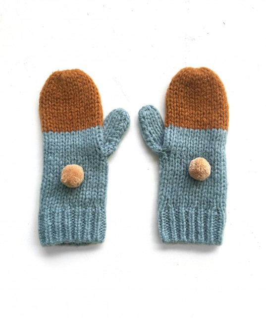 Belinda Gloves Teal/Toffee