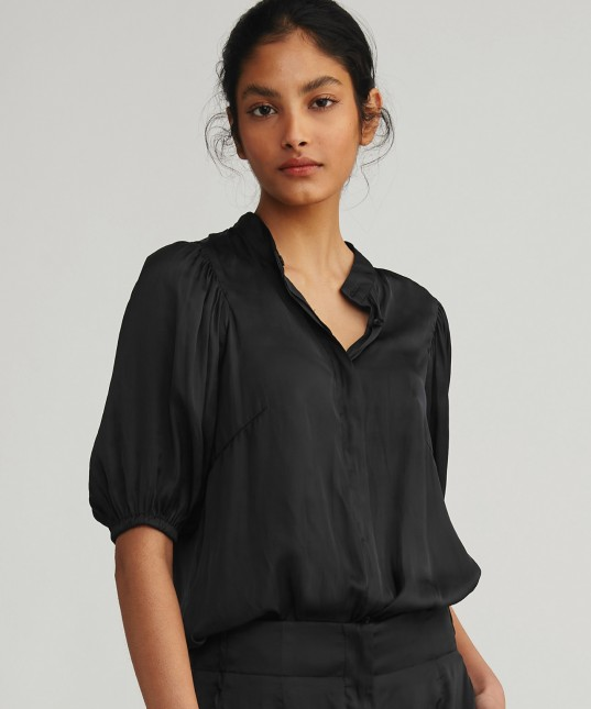 Camryn Shirt Poet Black