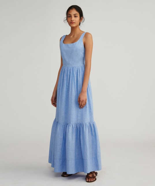 Emme Maxi Dress Bluebelle