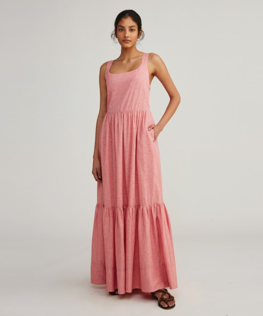 Emme Maxi Dress Rose