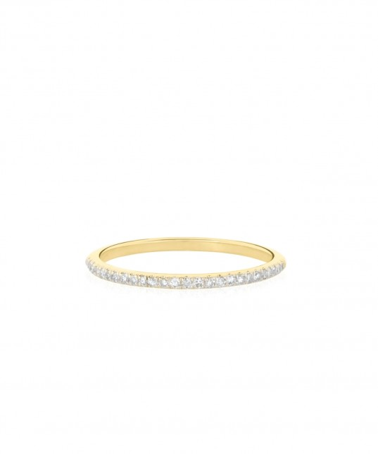 Forever Diamond Ring 9k White