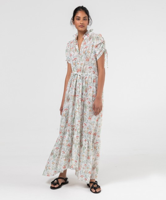 Issey Shirt Dress Print