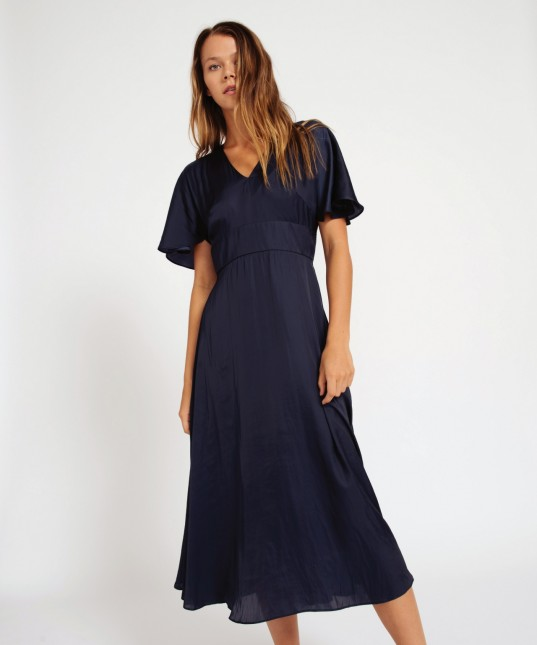 Jana Dress Poet Eclipse