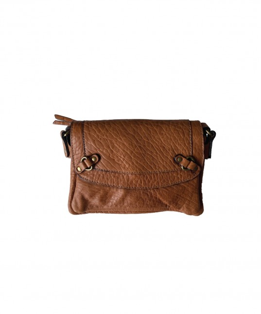 Joe Leather Pouch Camel