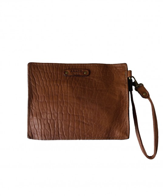 Kabaco Leather Pouch Camel