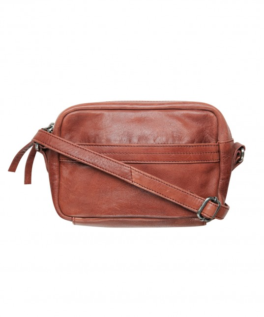 Kita Leather Bag Brick