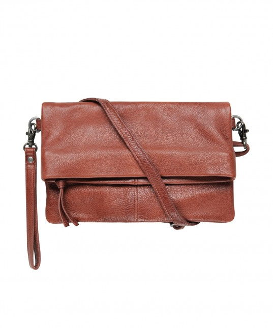 Mara Leather Bag Brick