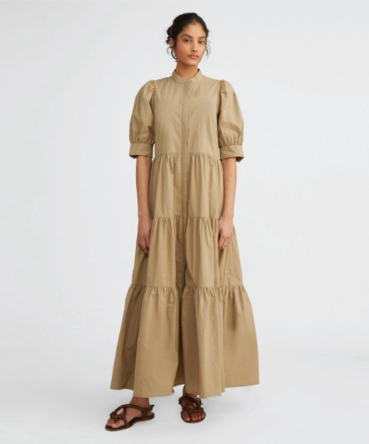 Nyle Shirt Dress Fennel