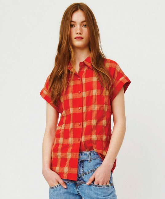 Orla Shirt Red Check