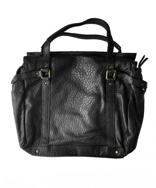 Puma Leather Bag Black