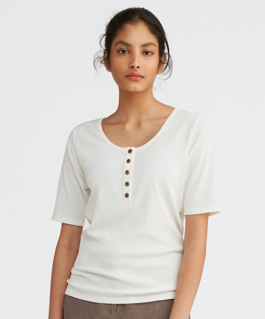 Rudy Top White