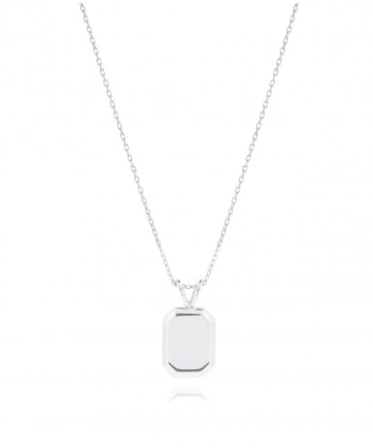 Tate Necklace Silver