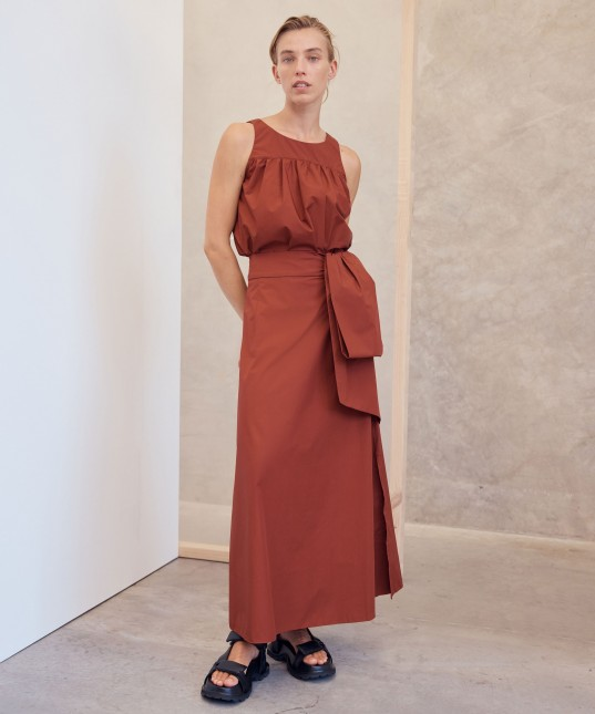 Cecile Skirt Clay