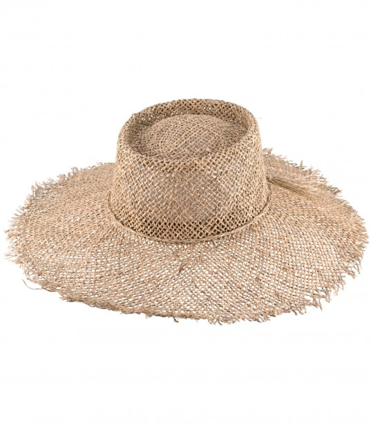 Tigerlily Hat Seagrass