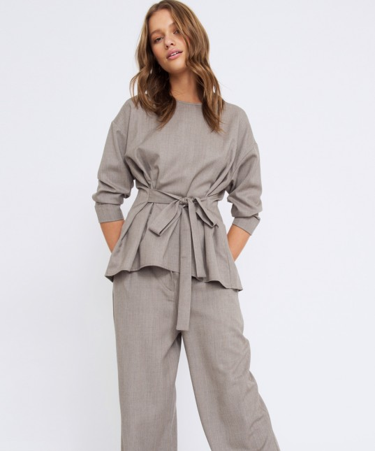 Celia Top Grey