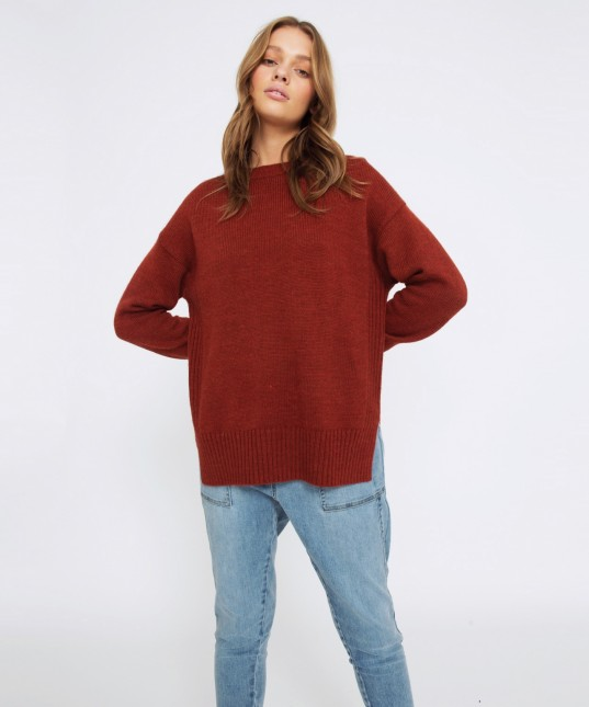 Indie Pullover Rust
