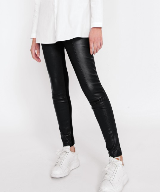 Karlie Leather Pant Black