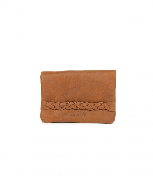Lilou Leather Wallet Spice