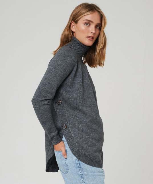 Magnus Pullover Charcoal