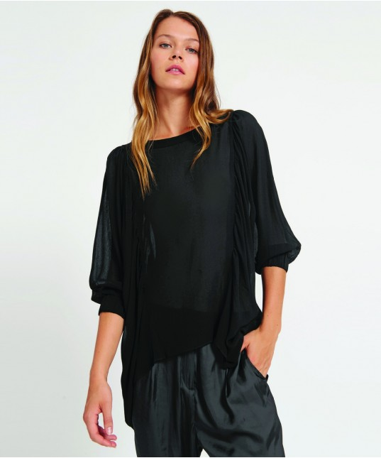 Marion Top Black