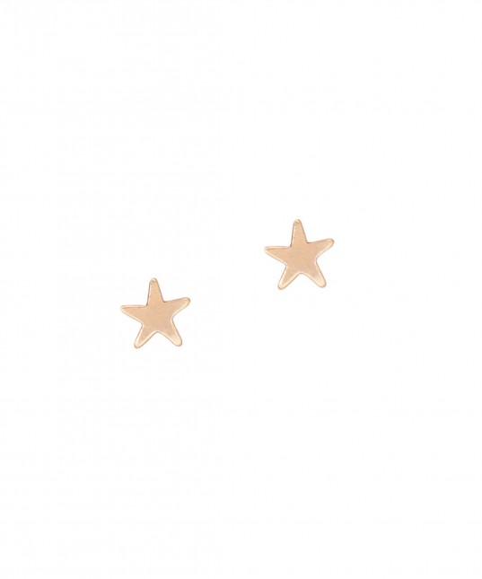 Star Stud Earring Gold