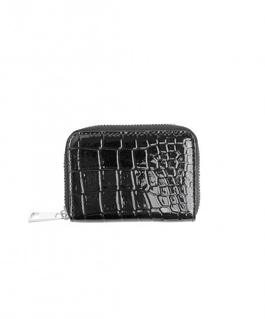Zipper Wallet Dark Grey