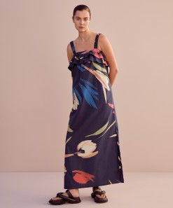 Adeline Maxi Dress Print