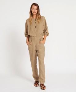 Alix Linen Pant Safari