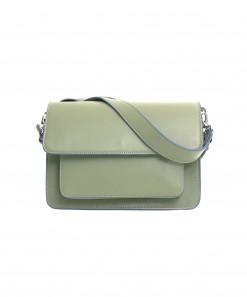 Basel Vegan Leather Bag Moss