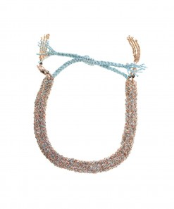 Braided Bracelet Pink Aqua