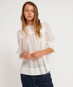 Estelle Top White