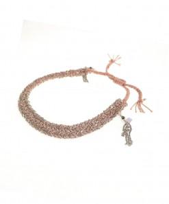 Braided Bracelet Silver Nude