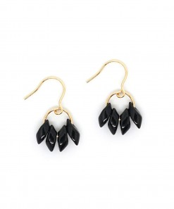 Little Pegasus Earring Black