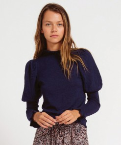 Katy Wool Pullover Navy