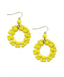 Sierra Earrings Yellow