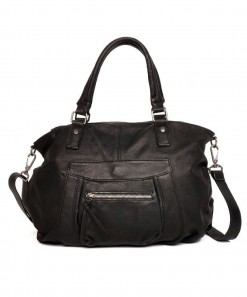 Noella Leather Bag Black