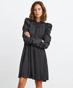 Arlette Shirt Dress Black