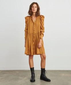 Arlette Shirt Dress Pecan