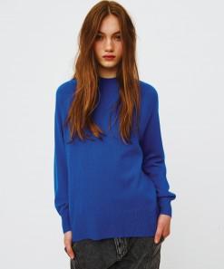 Athena Merino/Cashmere Pullover Sapphire