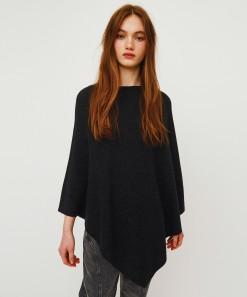 Athena Merino/Cashmere Wrap Charcoal
