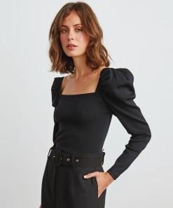 Camilla Pullover Black